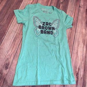 Zac Brown Band T-shirt women's Large